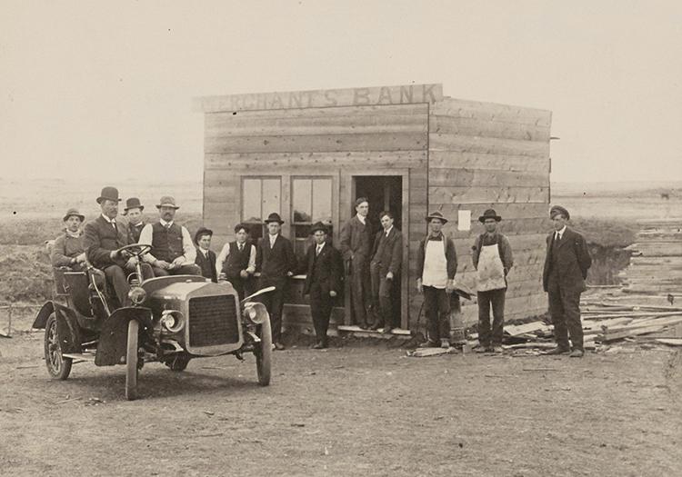 B/W Castor branch from 1909